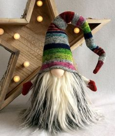Scandinavian Tomte Nisse Nordic Gnome by DaVinciDollDesigns