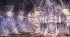 Jupiter Ascending - Abrasax Wdding, Reid Southen on ArtStation at https://artstation.com/artwork/jupiter-ascending-abrasax-wdding