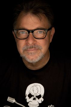 Jonathan Frakes. Still handsome! -- His Riker from Star Trek TNG is a favorite character, and his career as a director and producer is also fun to watch