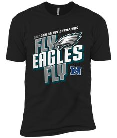 8ec2f483f TT0140 Philadelphia Eagles 2018 Fly Eagles Fly Premium T-Shirt