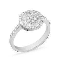 Delicia Iluminada!Para as requintadas e discretas, o brilho dos diamantes sempre cai bem. Na busca por aquele