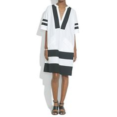 Madewell - Poncho Dress
