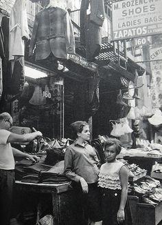 U.S. Garment Stores Lower East Side, New York City 1960s