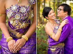 Cambodian / Khmer Wedding Dress