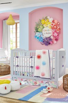 From toys to bedding, welcome your baby home with sweet and sunny details from our newest collaboration with Margherita Missoni.