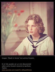 Death in Venice - Tadzio the boy - by Visconti (dir.) 1971