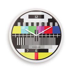 Kikkerland Test Card Clock