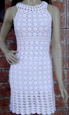 vestido de crochê 1…