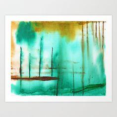 Piers Art Print by Antepara - $19.00