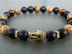 Pulsera de Buddha Buddha para hombre pulsera por MariZJewelry