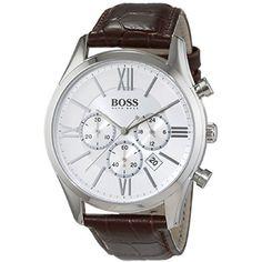 Hugo Boss Ambassa..., at www.WristTakerWatches.com  http://wristtakerwatches.com/products/hugo-boss-ambassador-men-s-quarts-chronograph-watch-hb1513194-1?utm_campaign=social_autopilot&utm_source=pin&utm_medium=pin