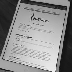 the skimm... the best way to keep up with current events, politics, sports, and entertainment..