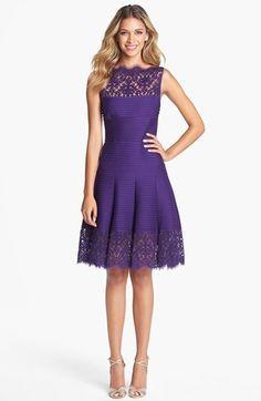 Tadashi Shoji Matte A-Line Jersey Dress available at #Nordstrom