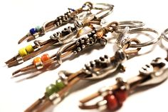 Tools, Metal, Facebook, Tiny Necklace, Beading, Necklaces, Sheet Metal, Key Rings, Appliance