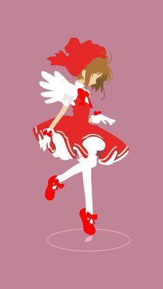 Sakura Kinomoto (Card Captor Sakura) Pink by on DeviantArt Cardcaptor Sakura, Kero Sakura, Manga Anime, Otaku Anime, Anime Art, Animes Wallpapers, Cute Wallpapers, Sakura Card Captors, Wallpaper Fofos
