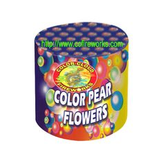 48s/96s Colour Pearl Flowers Fireworks (T2507, T2521) from CC FIREWORKS CO.LTD on YYUber.com