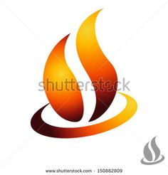 fire - sign - stock vector