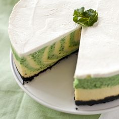 Key lime pie cheese cake yum