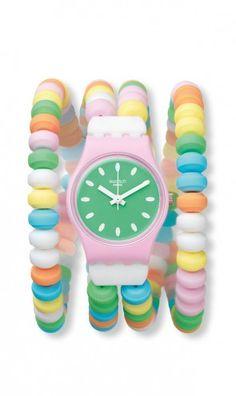a swatch candy necklace wristwatch?  please!