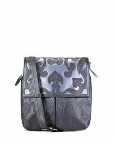 Scroll Crossbody Flap Bag Leather Crossbody 3f048c0329e8c