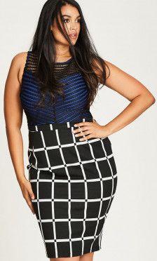 874534a7d2e Shop Women s Plus Size Women s Plus Size Skirt