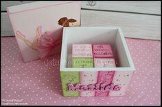 A caixa das recordações de bebé.