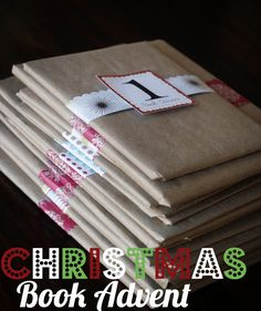 Christmas book advent. Wrap 25 books and have your kids pick one to read each night.