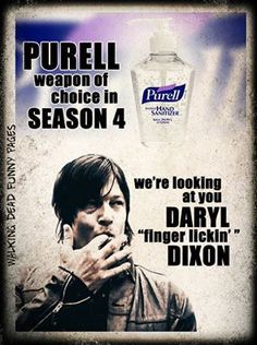 LOL.  We all know he will be OK #thewalkingdead