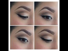 Neutral look video tutorial with Urban Decay's Naked Palette