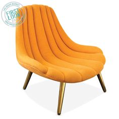Jonathan Adler Brigitte Lounge Chair in All Furniture Jonathan Adler, Upholstered Chairs, Accent Chairs, Design Furniture, Chair Design, Furniture Chairs, Retro Furniture, Living Room Chairs, Modern Furniture