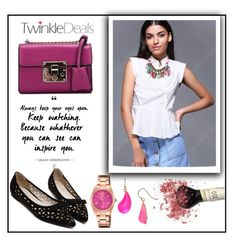 """""""Twinkledeals 18. / 2"""" by b-necka ❤ liked on Polyvore featuring Lorus, Alexis Bittar and twinkledeals"""