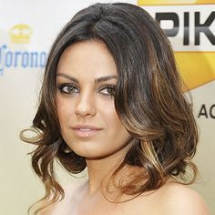 faux bob  Mila Kunis - Transformation - Beauty - Celebrity Before and After