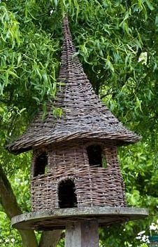 Woven willow dovecote - Brampton Willows