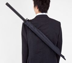 For everyone who likes samurai stuff this weird umbrella.