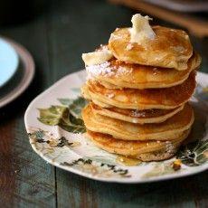 Banana Milk Chocolate Weekend Pancakes | Joy the Baker