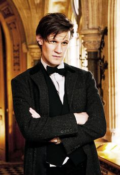 Eleven / Matt Smith -- Oh, wow... I think he means it this time... He looks serious.