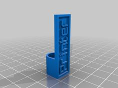 Customizable Cable Label by allenZ - Thingiverse