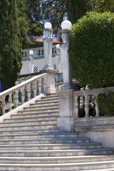 Free stock photo of Editorial Use Only: A flight of stairs in the grounds of Hearst Castle, san simeon, california Beautiful Castles, Beautiful Places, Hurst Castle, Grand Canyon, Las Vegas, San Simeon, San Luis Obispo County, Vacation Places, The Ranch