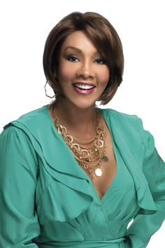 Vivica A. Fox Synthetic Deep Lace Front - Hayden