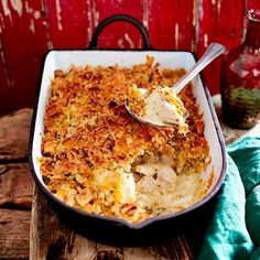 Crumble de poulet au cheddar Cheddar, Nutrition Plans, Superfood, Lasagna, Macaroni And Cheese, Casserole, Main Dishes, Recipies, Food And Drink