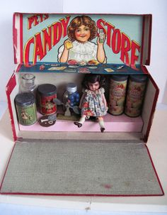 Pets Candy Store, England, 1890's