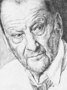 Lucian Freud Drawings   Lucian Freud by delph-ambi