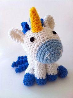 L'il Unicorn amigurumi crochet pattern by Ami Amour