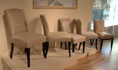 Studio Chairs Carlyle - 01-530 - 1569-10 - Grade G Danbury (previously the Denver) - 01-580 - 1739-10 Grade B / 1794-95 - Grade I Hopewell - 01-514 - 1764-85 - Grade E Denmark - 01-682 - 1709-10 - Grade C/ 1731-85 - Grade G