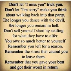 No Contact is the only way to begin your path to recovery. Recovery will never happen as long as they are still a part of your life... www.narcissistsupport.com  www.noworkingtitle.org