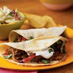 Tacos al Carbon | MyRecipes.com