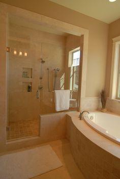 From Builder Grade Blahs To Home Spa Retreat Builder Grade Master Pleasing Bathroom Remodeling Portland Oregon Design Ideas