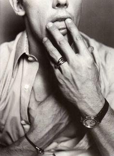 Werner Schreyer by Mario Testino for Vogue Paris, April 2003