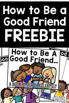 How to be a Good Friend Teaching Friendship, Preschool Friendship, Friendship Lessons, Friendship Theme, Friendship Activities, Friendship Crafts, Kindness Activities, Friendship Quotes, Social Emotional Activities