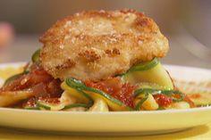Chicken Parm with Zucchini Pasta
